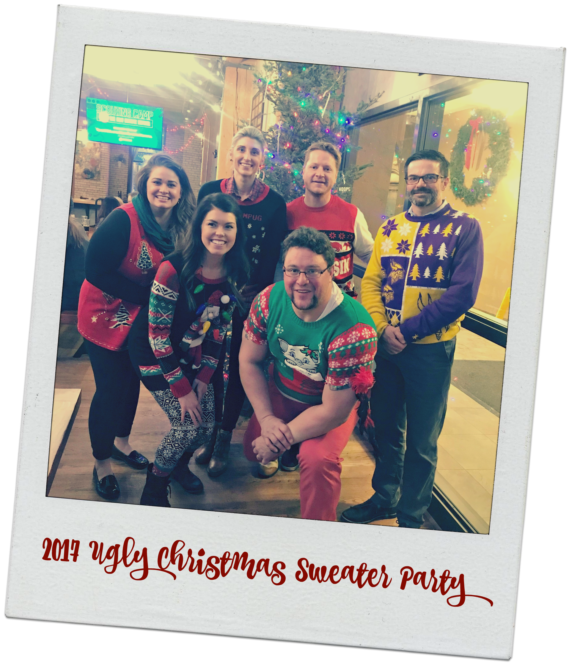 2017 Ugly Christmas Sweater Party