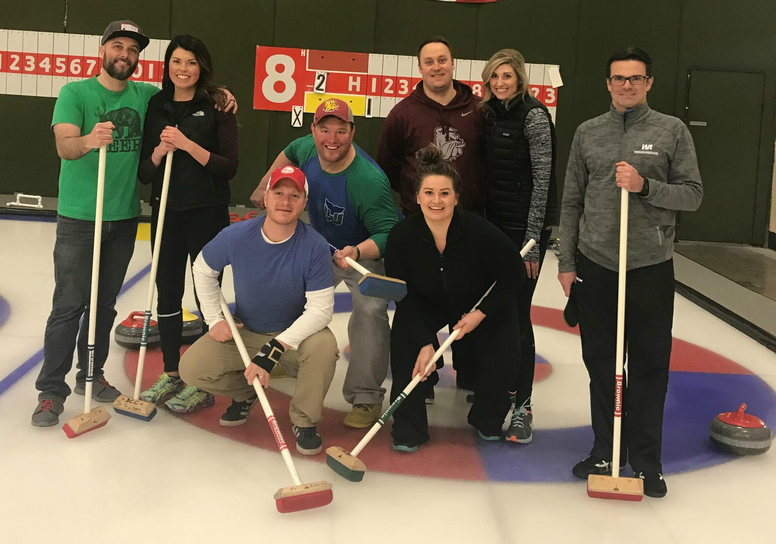 2018 Curling Group Picture